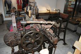 Loom foor weving fo selvages Maria Luiza'' 1893 - Museum - Karlovo
